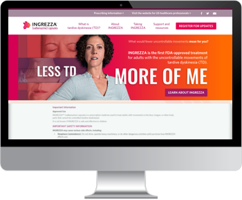 INGREZZA valbenazine Patient website